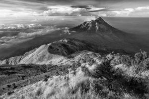 Berglandschap Java