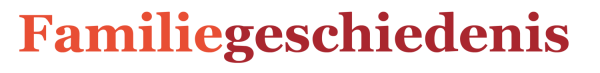 Familiegeschiedenis-schrijven Logo